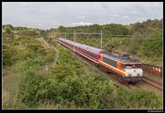 LC 9901 - 13490 (Spoorpunt.nl) Tags: 3 juni 2017 locon 9901 leeg materieel trein 13490 duinen overveen zandvoort müller euroexpress rijtuigen 9903
