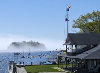 Curtis Island Fog