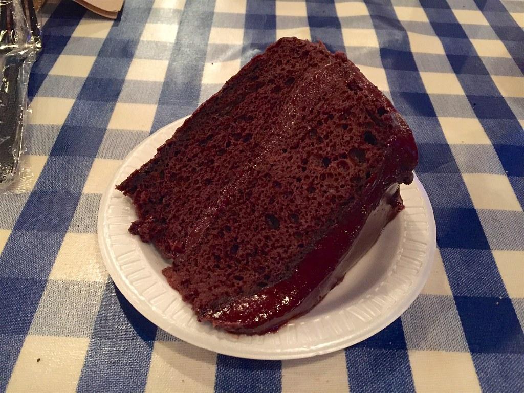 Portillos Cake Size