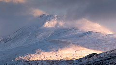 First light on Ben Lomond (dalejckelly) Tags: goldenhour sunrise canon canon7dmarkii benlomond rosspriory lochlomond snow winter scotland visitscotland scottish scenery scenic landscape landscapephotography photography mountain mountains 70300l outdoor