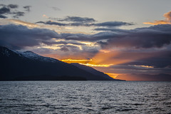 Sunset Alaska (t conway) Tags: