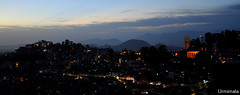 Shimla at dusk. (mala singh) Tags: sky dusk sunset skyline shimla himachal mountains himalayas india
