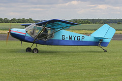 G-MYGP (QSY on-route) Tags: gmygp lincoln aero club mid summer fly in sturgate 04062017