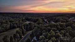 June 10.  Droneset. (CTurman) Tags: 365 sunset golf