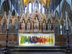 High altar, Worcester Cathedral (carolyngifford) Tags: worcestercathedral altar georgegilbertscott