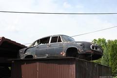 Tatra T603 wreck (MilanWH) Tags: autovrakoviště scrapyard czech rust épave tatra t603 603