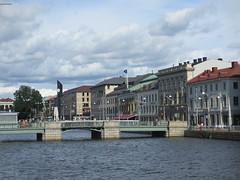 Tyska bron across Stora Hamnkanalen, Gothenburg, Sweden (Paul McClure DC) Tags: gothenburg sweden sverige july2015 göteborg historic architecture scenery