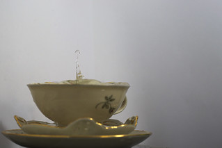 A cup and a drop