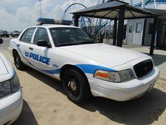 Cedar Point Police (Evan Manley) Tags: cedar point police policecar crownvictoria sandusky ohio gate keeper