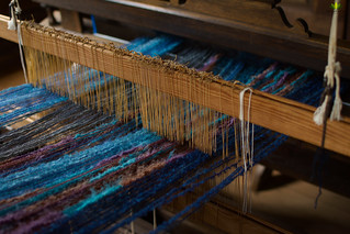 Alter Webstuhl / old loom #flickrfriday #diagonal