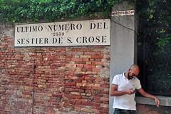 High numbers (mikael_on_flickr) Tags: highnumbers streetlife streetshot streetportrait venezia venedig venice rubato sestierediscroce guy mec man mann uomo homme hombre handsome