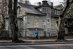 Running By The Past (k009034) Tags: 500px trees city people street travel buildings old urban architecture running pavement windows jogging moving exercise runner jogger exploration tallinn estonia tranquil scene copy space destinations teamcanon