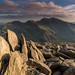 'A Massif View' - Glyder Fawr, Snowdonia (Kristofer Williams) Tags: snowdonia snowdon horseshoe massif mountain mountains landscape evening light rocks wales glyderfawr