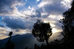 Touch the sky (khandozhkoa) Tags: 2017 nepal mountains sunlight sunset skyline fujifilm fujinon fujistas xtrans xf 1855mm dof colors colorful travel travels traveler vacation worldwide landscape landscapesdreams