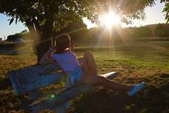 Amanecer (boostedstockphotos) Tags: woman lyon france francia hermosura sunrise amanecer sunny sun sol luz lumiere ronchamp traveljunkie explore love friendship person girl mujer