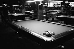 67420009 (fuzzywomack) Tags: newyork film filmphotography canonat1 canon 35mmfilm 35mm manhattan pool billiards amerstdambilliards at1
