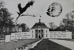 1967 Vorstenhuis (Steenvoorde Leen - 4 ml views) Tags: vorstenhuis koninklijk huis koninklijke familie monochroom 1967 dynasty dynastie dinastia dutch netherlands hollanda niederlande ansichtkaart card karte family