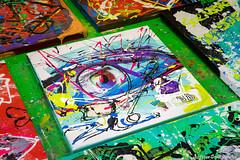 2017-05-24 Jacksart Magic art (93a) (Peter Donderwinkel) Tags: jacksart apeldoorn kunst schilderen plakken scheuren magicart avondjeuit kleurig colorfull canon artphotography art photography painting paintings modernart modernekunst jackliemburg team acrilicpaint