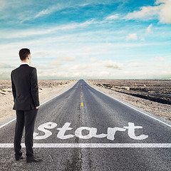 Ready to start (lesliehocker1) Tags: achievement asphalt background begin boot business career commence competition decision direction first foot footstep forward go journey label leg line man pavement point position print progress queue ready road route rugged shoe sign signage standing start startingline startingpoint step street symbol symbolic tarmac urban weathered businessman