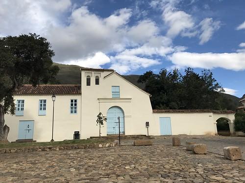 Claustro de San Agustín, Villa de Leyva, Colômbia.