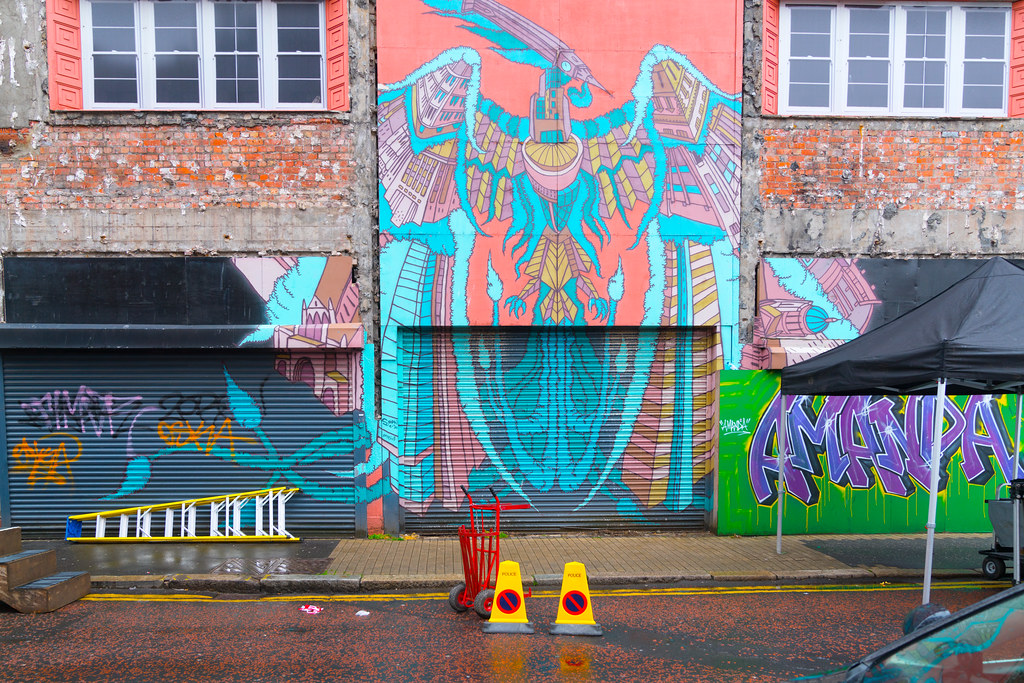 STREET ART AND GRAFFITI IN BELFAST [ANYTHING BUT THE FAMOUS MURALS]-129153