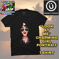 "SOLD! 👄 ""#LookAtMe"" #Charming #Girl #Portrait #Tshirt 👄  By #BluedarkArt    Thanks a lot to the Buyer! 😊  👕 #APPAREL SHIPS #FREE! 👕  https://bluedarkart.wordpress.com/2017/05/30/sold-look-at-me-t-shirt-by-bluedarkart-designby (BluedarkArt) Tags: charming onlinestore tshirt beauty free clothes portrait fashion shoppingonline cooltshirts bluedarkart bluedarkartcopyright summertshirts 4sale lookatme trendytees apparel cooltees fashionistagram girl summertrends summerfashion onsale"