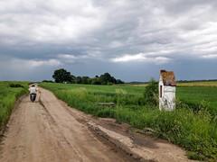 Rural landscape by radimersky - Road side shrine, Poland. May, 2017