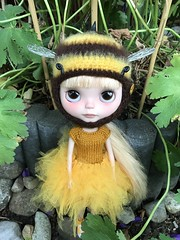 """""""I'm a bee, I'm a bee.... where are the flowers?"""""""