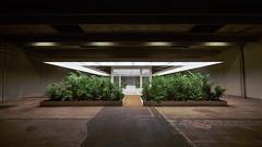 The garden (J.D foto) Tags: art garden artwork aarhus aros sculpture plants indoor inside lights warehouse performingarts present future