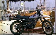 1981 - 15 The New Yamaha XT (Phytophot) Tags: nikon f3 1981 yamahaxt palomino sttropez mole port