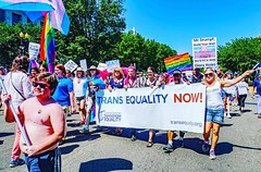 More people with health care = more humans living authentically and able to help the world learn to ❤️ better. Isn't this century great? @equalitymarch2017 #EqualityEqualsHealth #dc #WeareDC @trans.equalityy