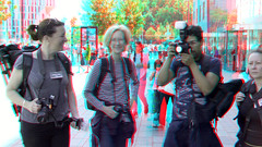 Fotovakschool Binnenrotte Rotterdam 3D (wim hoppenbrouwers) Tags: anaglyph stereo redcyan pers binnenrotte rotterdam 3d press fotovak markthal blaak