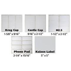 Lean Labels (FastCap) Tags: fastcap label organize storage organization organizational nametags tags tag peelandstick