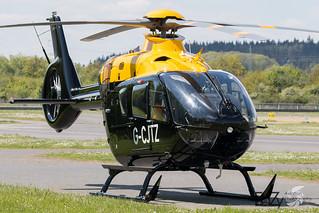 G-CJTZ Eurocopter EC-135 T3H Juno HT.1