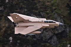 DESERT (Dafydd RJ Phillips) Tags: zg750 marham raf lossiemouth force air royal gr4 tornado panavia loop mach snowdonia wales aviation military combat iraq 1991 granby storm desert operation kuwait arabia saudi