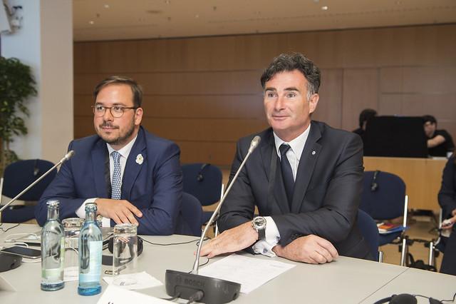 Maxin Nohroudi and Umberto de Pretto