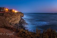 Sunset Cliffs (Lgampel) Tags: specland water sunsetcliffs sandiego duskoutdoors ocean sky waves rocks coast misty