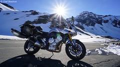 DSC07374 (Olaf Biedron) Tags: alpen grosglockner grossglockner sonne sonnenstrahlen sun fz1 yamaha fazer motorrad motobike bike alpenpass dolomiten grosglocknerstrase grossglocknerstrasse