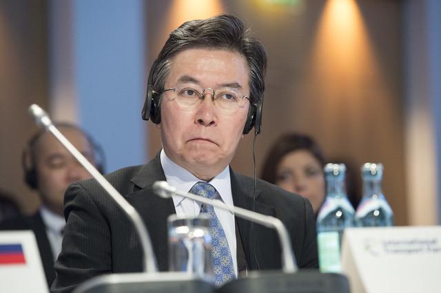 Hiroshi Tabata at the Closed Ministerial