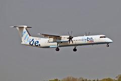 G-JECN DHC-8Q 402 Flybe MAN 11-05-17 (PlanecrazyUK) Tags: egcc manchester man ringway manchesterairport gjecn dhc8q402 flybe 110517