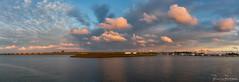 The Sky (BraCom (Bram)) Tags: bracom harbor haven cloud wolk sluizen fishingboats visserschepen water brug bridge stellendam buitenhaven haringvliet goereeoverflakkee zuidholland nederland southholland netherlands holland canoneos5dmkiii panorama canon canonef24105mm bramvanbroekhoven nl