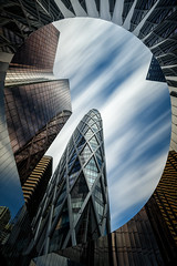 Towers in a Balloon (Mesli) Tags: architecture building cityscape ladéfense france nikon d810 long exposure bigstopper