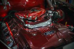Mini Zephyr (_honez) Tags: 2017brisbanehotrodshow hotrod show custom car vehicle vintage classic kustom kulture culture brisbane qld queensland brisbaneconventioncentre conventioncentre ride cruiser sportscar v8 ford engine red