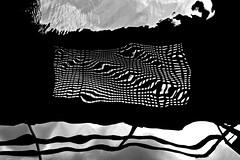 2 Reflection (Ingrid Donkelaar) Tags: water reflection spiegeling graphic waterwrinkles