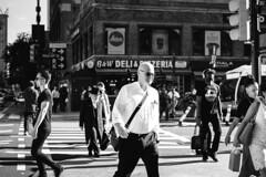 En marche (Cedpics) Tags: nyc street manhattan fujixpro1