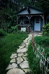 Cotton Cottage (CarusoPhoto) Tags: john caruso carusophoto iphone 7 plus ginger blossom illinois richmond rural banal mundane everyday ordinary