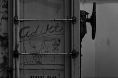 (o texano) Tags: houston texas graffiti trains freights bench benching moniker broke a2m adikts