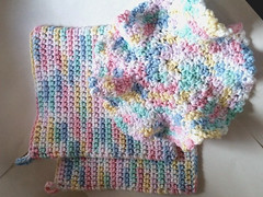 Cook and Clean Set (Frankie2963) Tags: crocheted crochet cotton kitchen redneck kreations potholder potholders pot holder trivet dish wash cloth clothe
