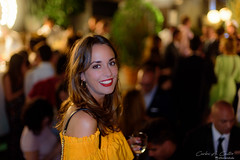 Silvia (Carlos A. Castro 72) Tags: belleza people beauty smile sonrisa lovely encanto mujer girl chica woman d750 50mm party fiesta night noche retrato portrait actriz actress bokeh