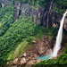 Nohkalikai Falls - The tallest plunge waterfall in India - 1